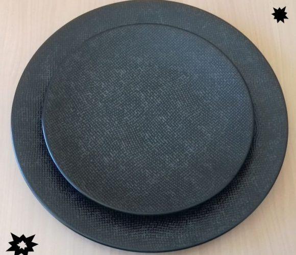 J'ai testé pour vous assiette Vezuvio noire