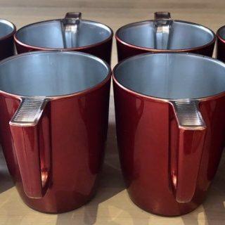 J'ai testé pour vous tasse à café en verre rouge Flashy