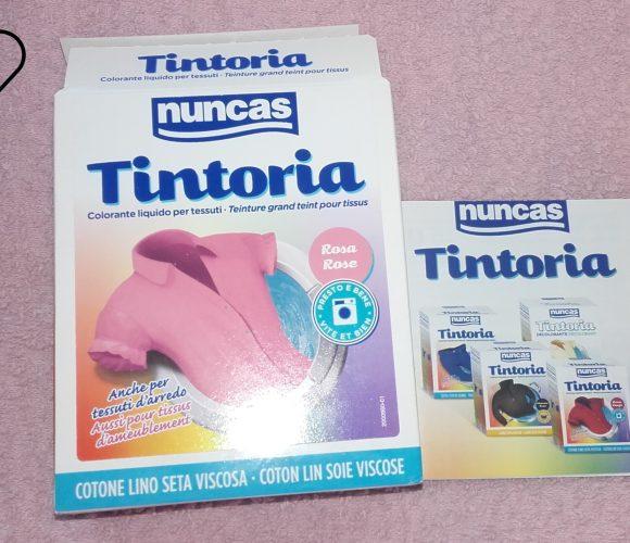 J'ai testé pour vous nuncas Tintoria  colorant liquide pour vêtements… IL EST GENIAL