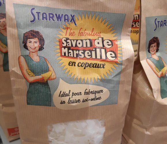 J'ai testé pour vous copeaux Savon de Marseille