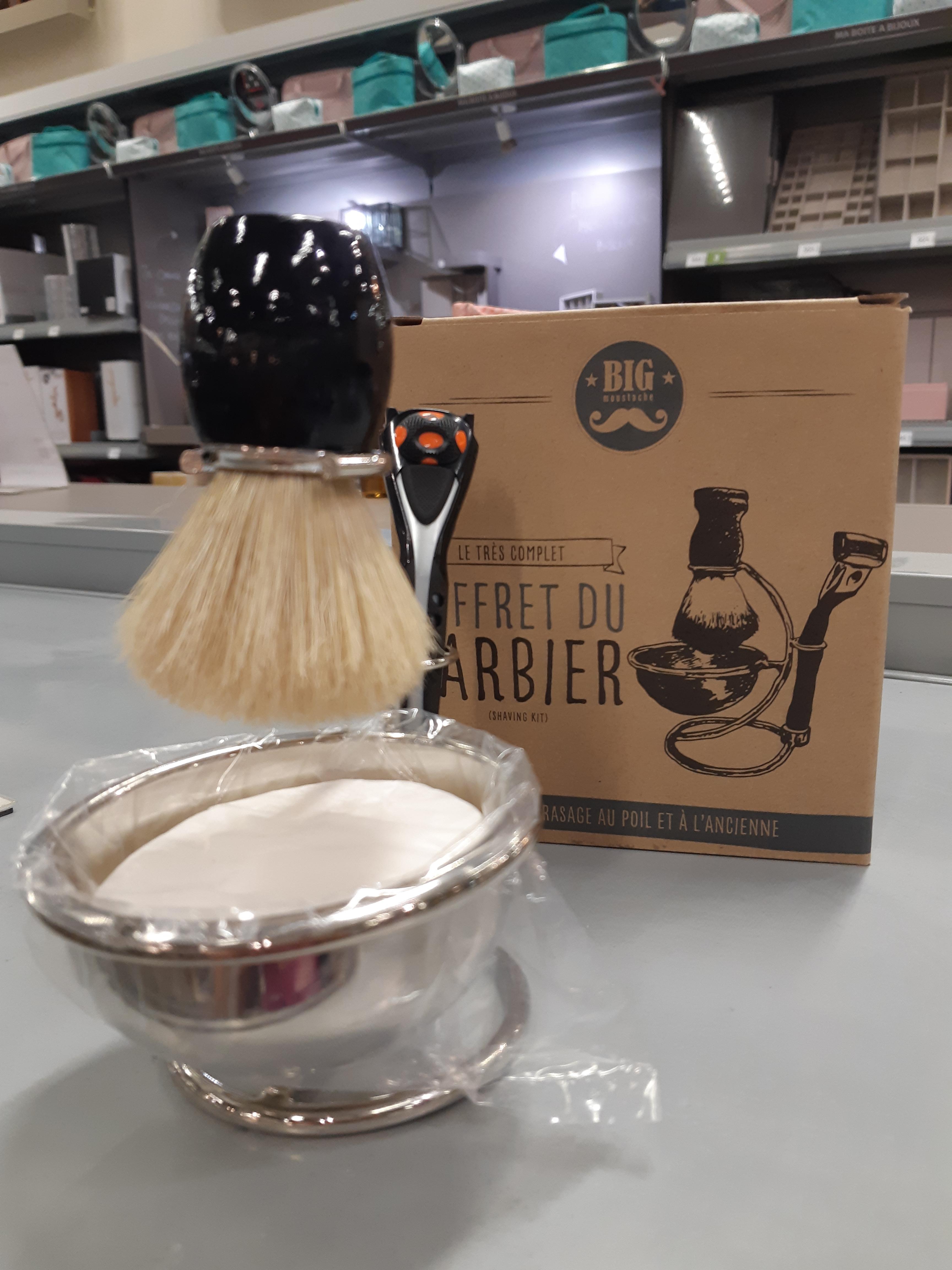 «Le coffret du Barbier» pour la fête des Pères !!!!!