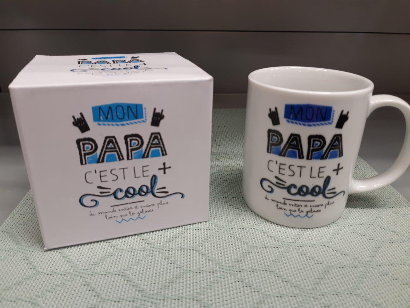 Le Mug Papa cool céramique pour la fête des Papas!!!