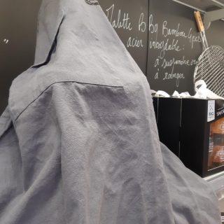 IDÉE FÊTE DES PÈRES LE TABLIER IMPRIME 100 % COTON LAVE