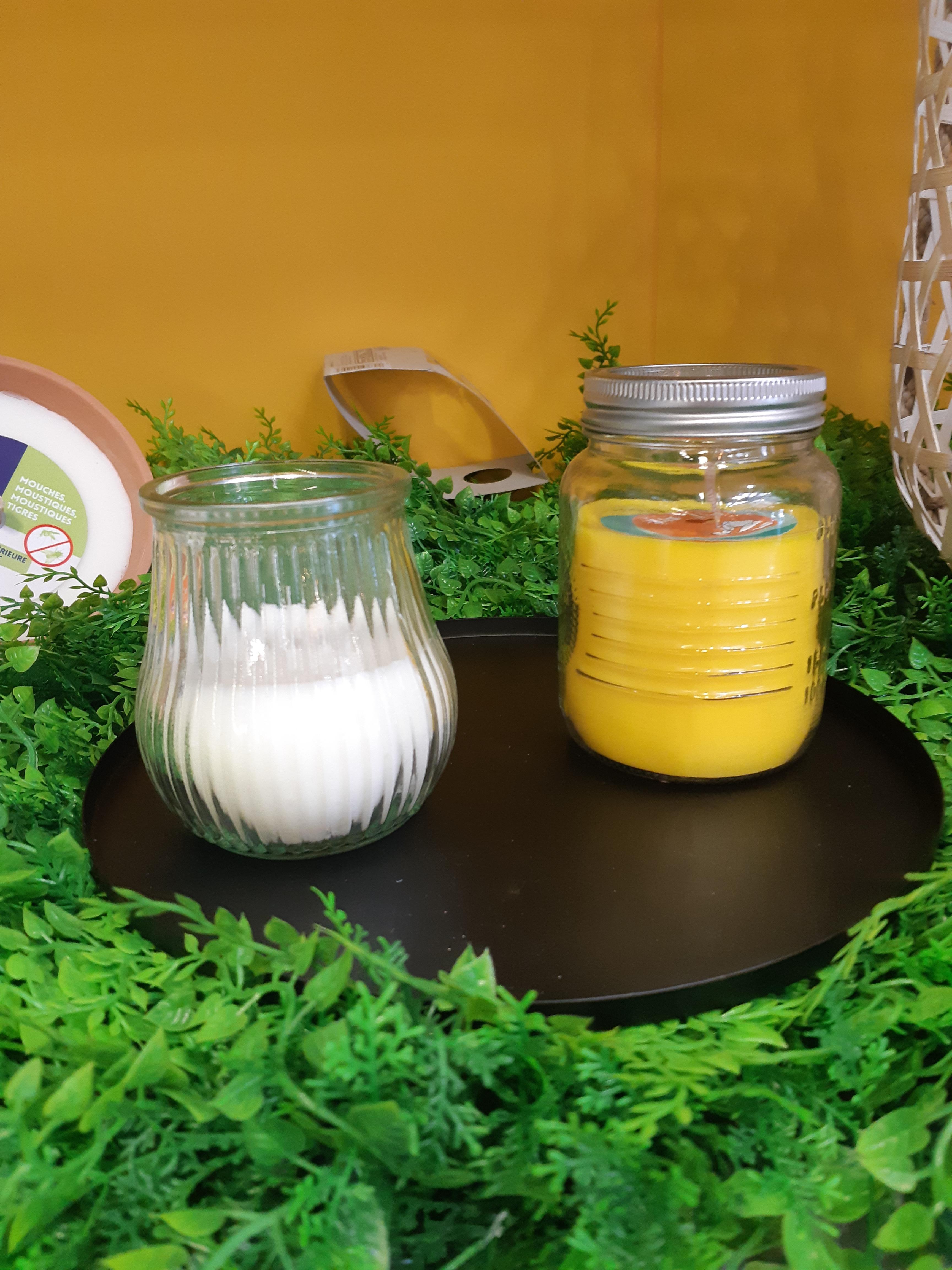 La bougie à la citronnelle!!!!