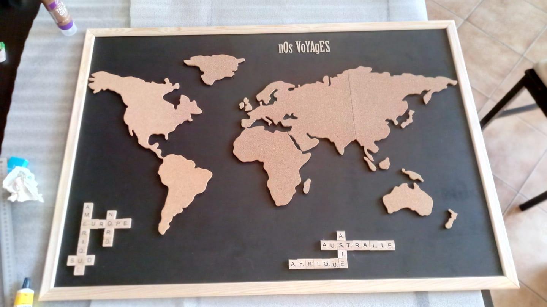 carte monde liège