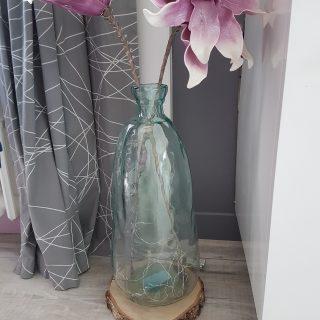 J'ai testé pour vous vase en verre recyclé 51 cm