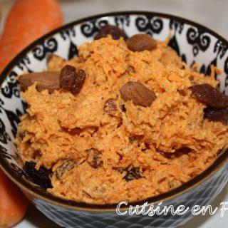 Rillettes de carottes à l'orientale