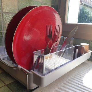 J'ai testé pour vous l'égouttoir à vaisselle rétractable