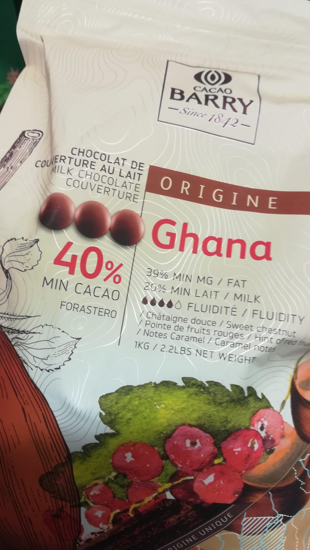 J'ai testé pour vous le chocolat Ghana de chez Barry
