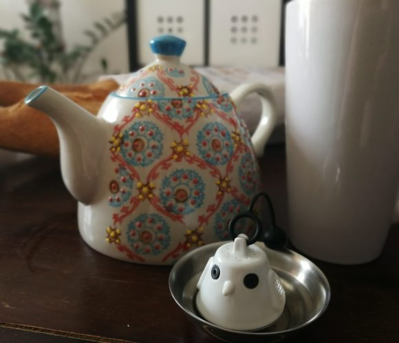J'ai adopté une nouvelle boule à thé!
