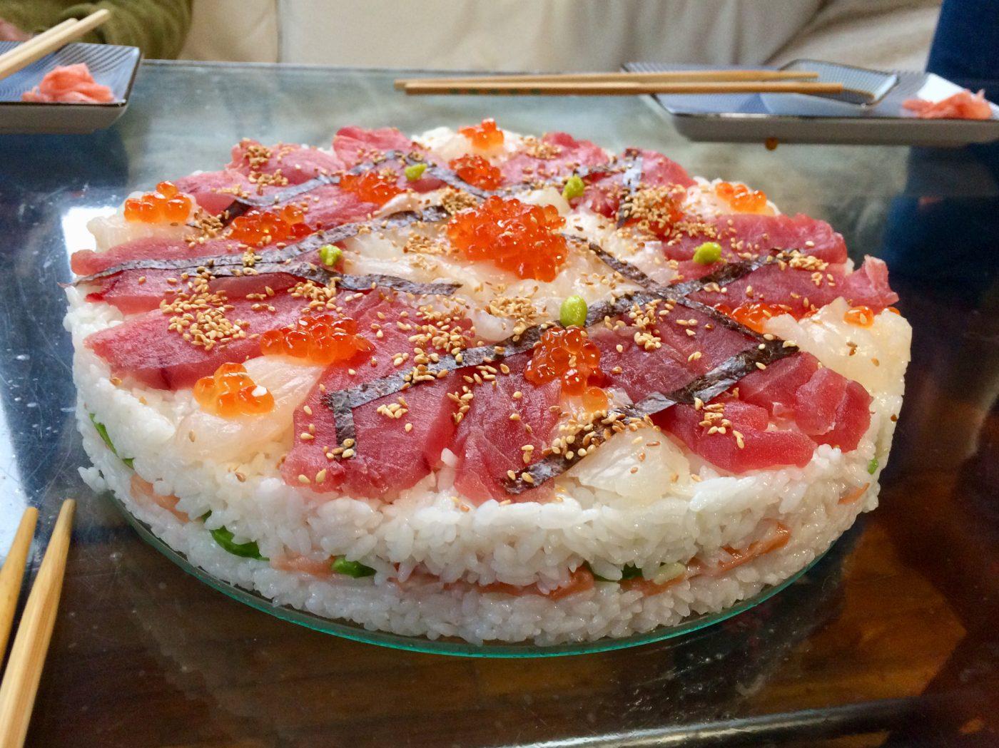 Mon Sushi Cake XXL