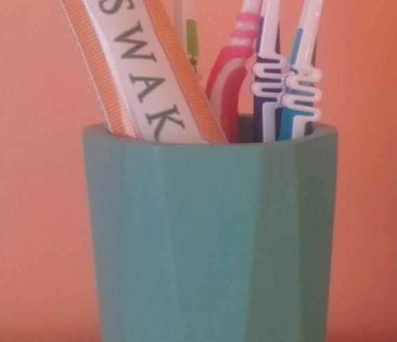 J'ai testé pour vous gobelet à dents bleu aqua Dynamic