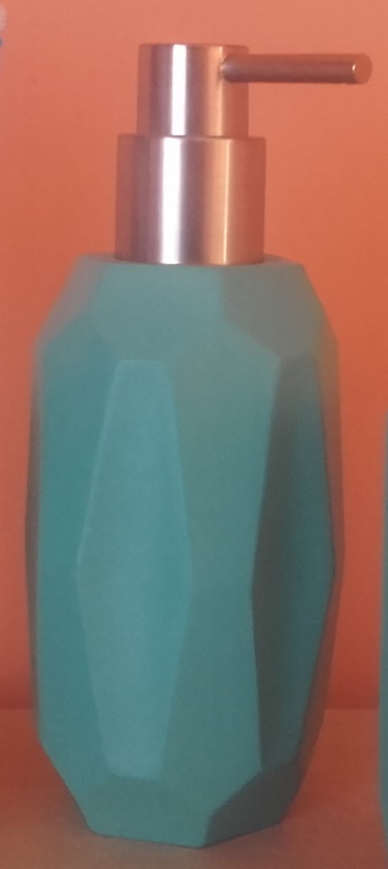 Distributeur de savon bleu aqua Dynamic