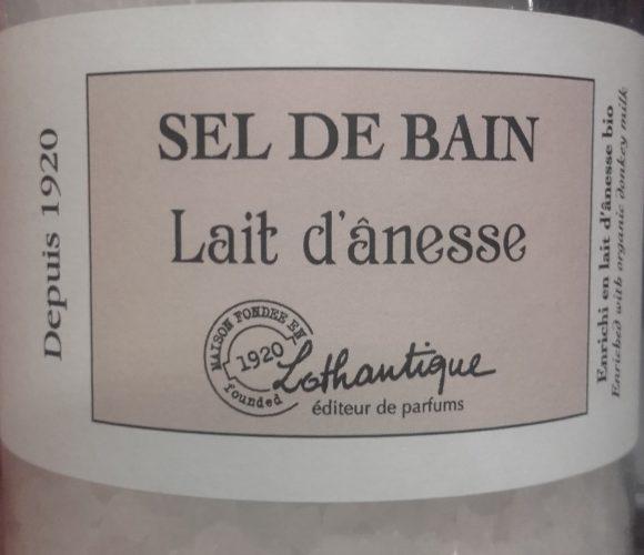 J'ai testé pour vous sels de bain parfumé au lait d ânesse … de la douceur