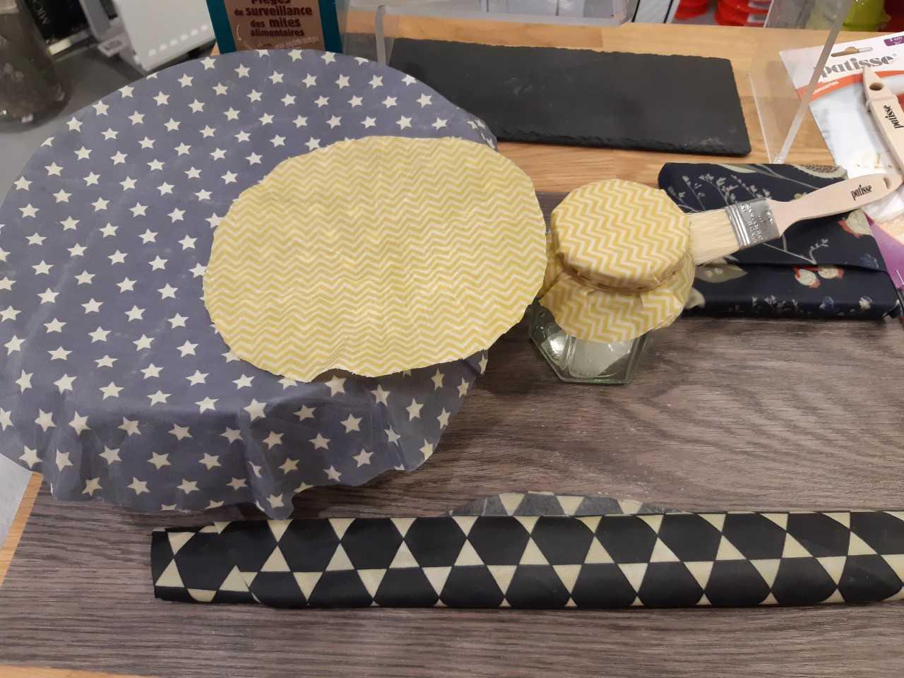 film alimentaire la cire d 39 abeille fait maison blog z dio. Black Bedroom Furniture Sets. Home Design Ideas