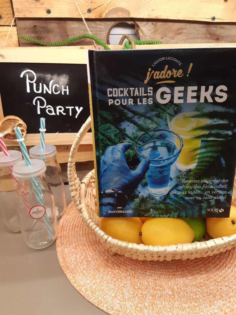 Le livre Cocktails pour les Geeks