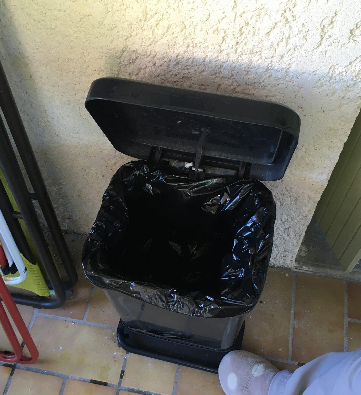 J'ai testé pour vous poubelle à pédale 20L de la marque Rhoto