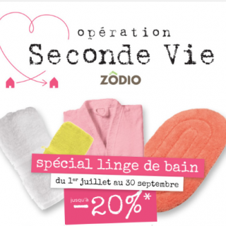 SECONDE VIE LINGE DE BAIN