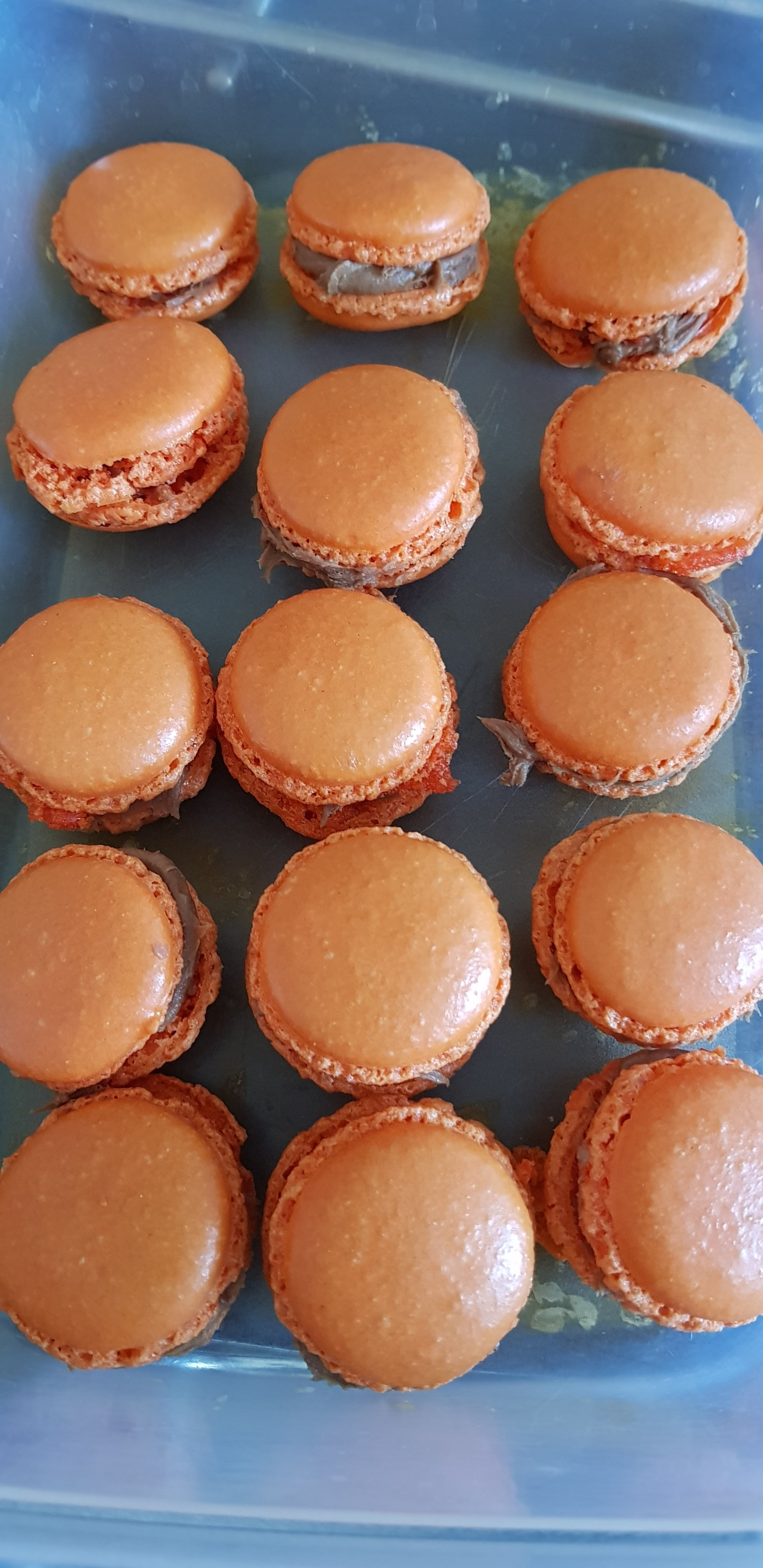 Les macarons 2ème essais