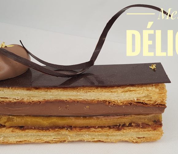 Millefeuille chocolat passion
