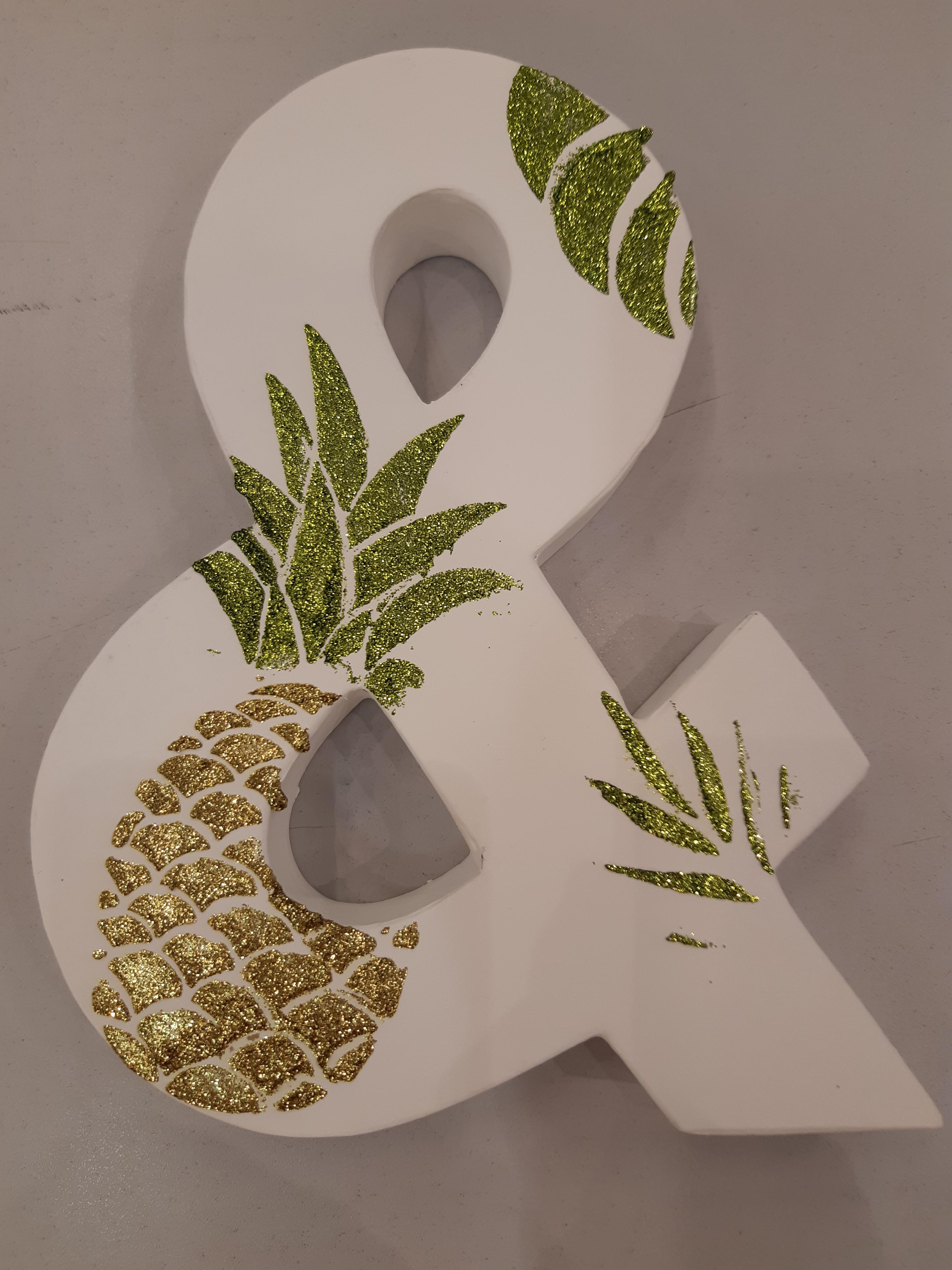 J'ai testé pour vous pochoir déco cactus ananas