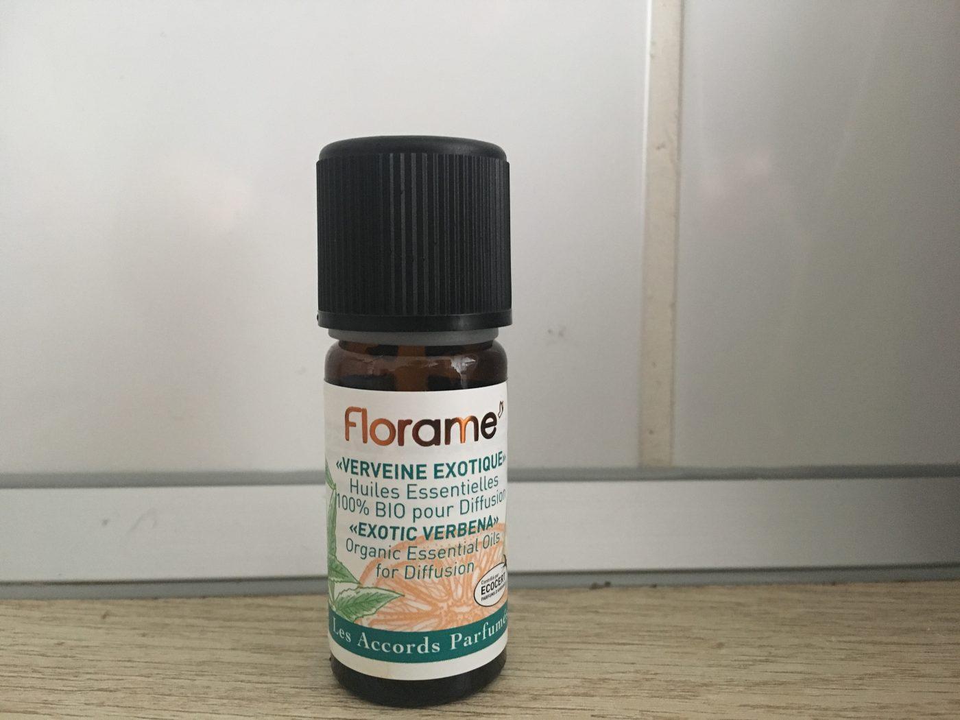 J'ai testé pour vous l'huile essentielle de verveine exotique