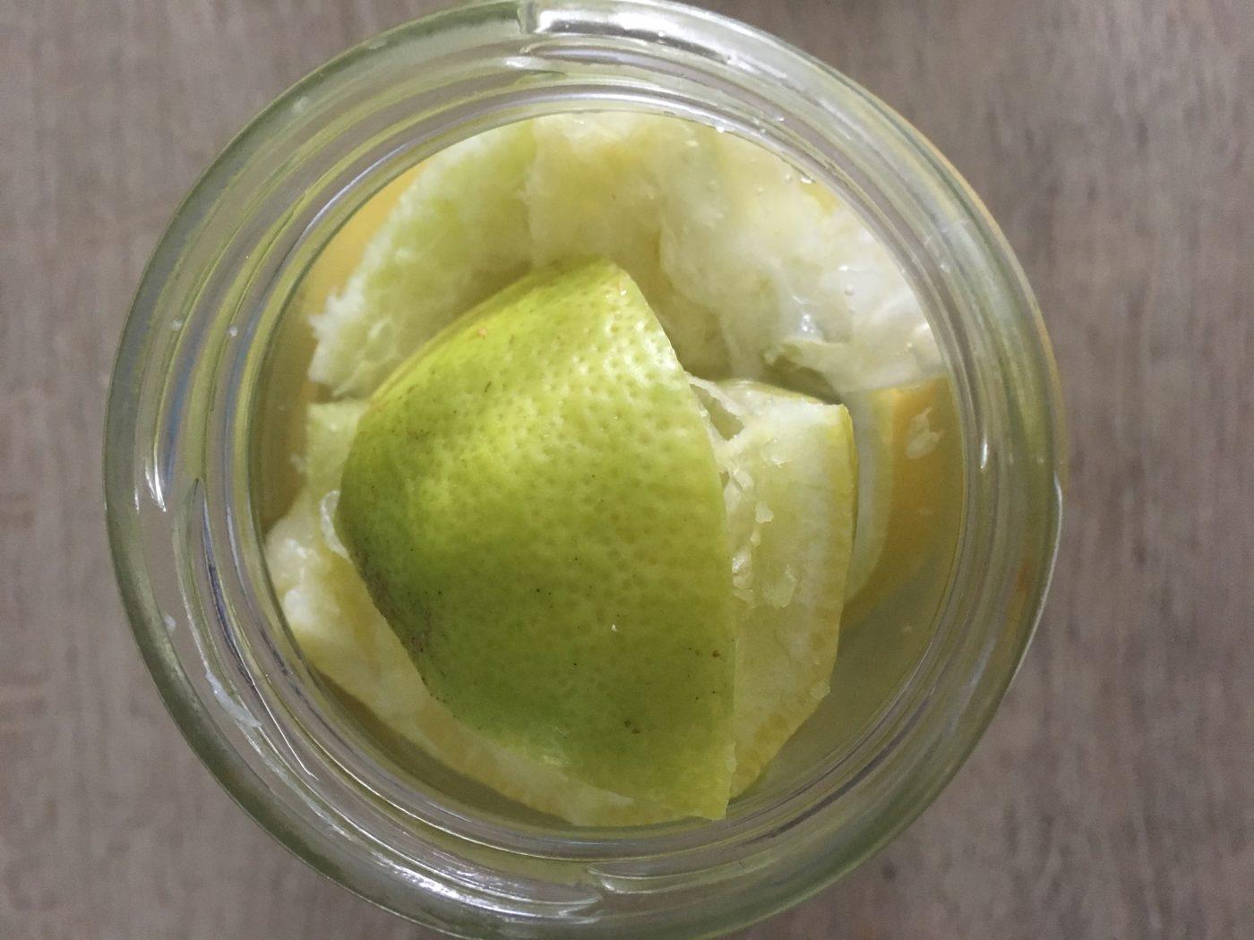 Vinaigre blanc au citron !