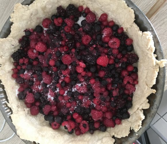 Ma tarte aux fruits rouges