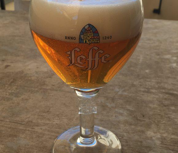 J'ai testé pour vous verre à bière Leffe