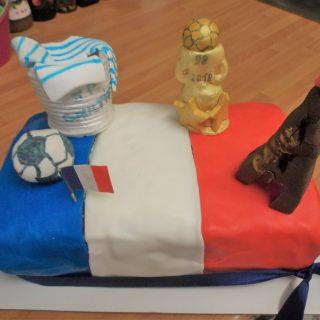 """Gâteau """"Vive la France"""""""