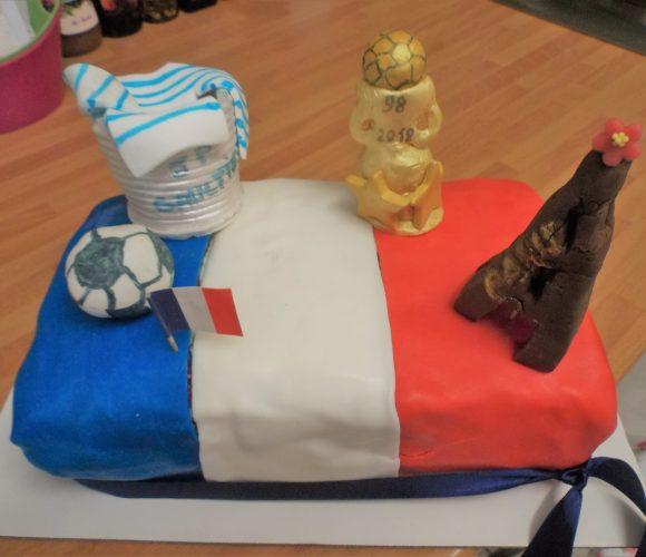 Gâteau «Vive la France»