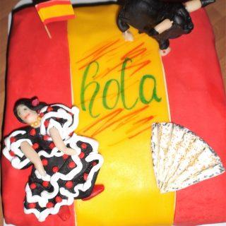 """Gâteau """"VIVA ESPANA"""""""