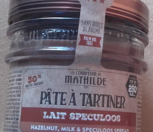 J'ai testé pour vous pâte à tartiner lait de spéculoos Le comptoir de Mathilde