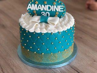 Haute couture Cake