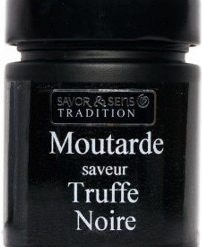 J'ai testé pour vous moutarde à la truffe noire… un délice