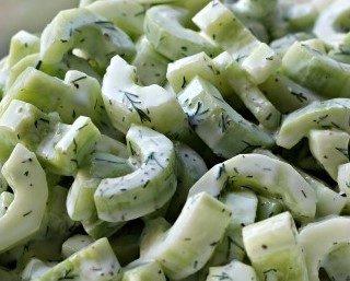 Salade de concombres spéciale été 🥒🥒