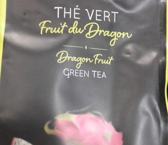 J'ai testé pour vous thé Fruit du dragon Bio