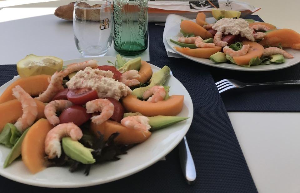 Salade bord de mer
