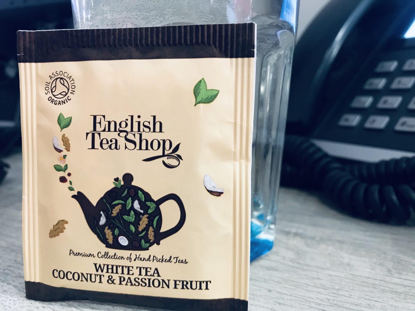 J'ai testé pour vous le thé passion coco 🥥