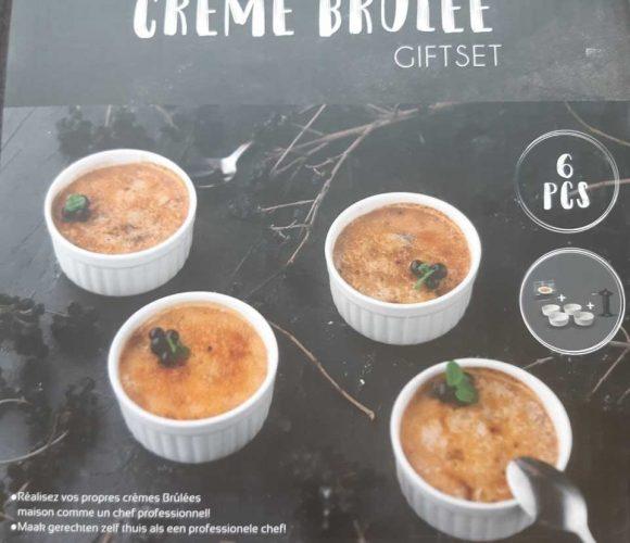 Set 6 pièces Crème Brûlée
