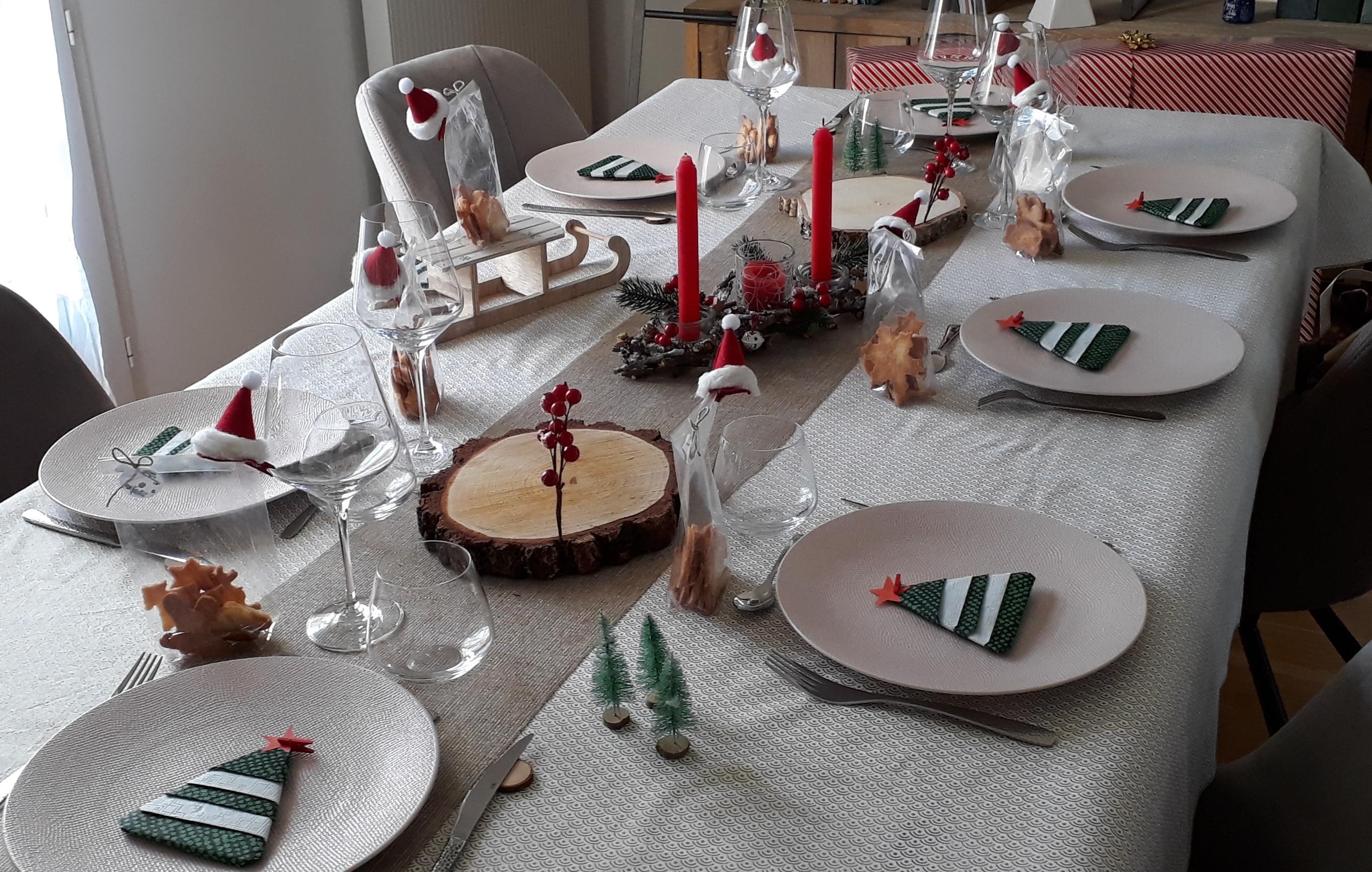 J'ai testé pour vous les Rondins de bois dessous de plats /bougies 22cm