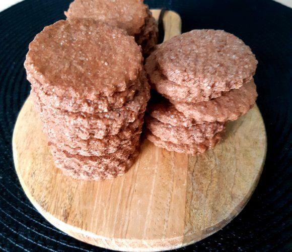 J'ai testé pour vous préparation pour sables au chocolat Mirontaine
