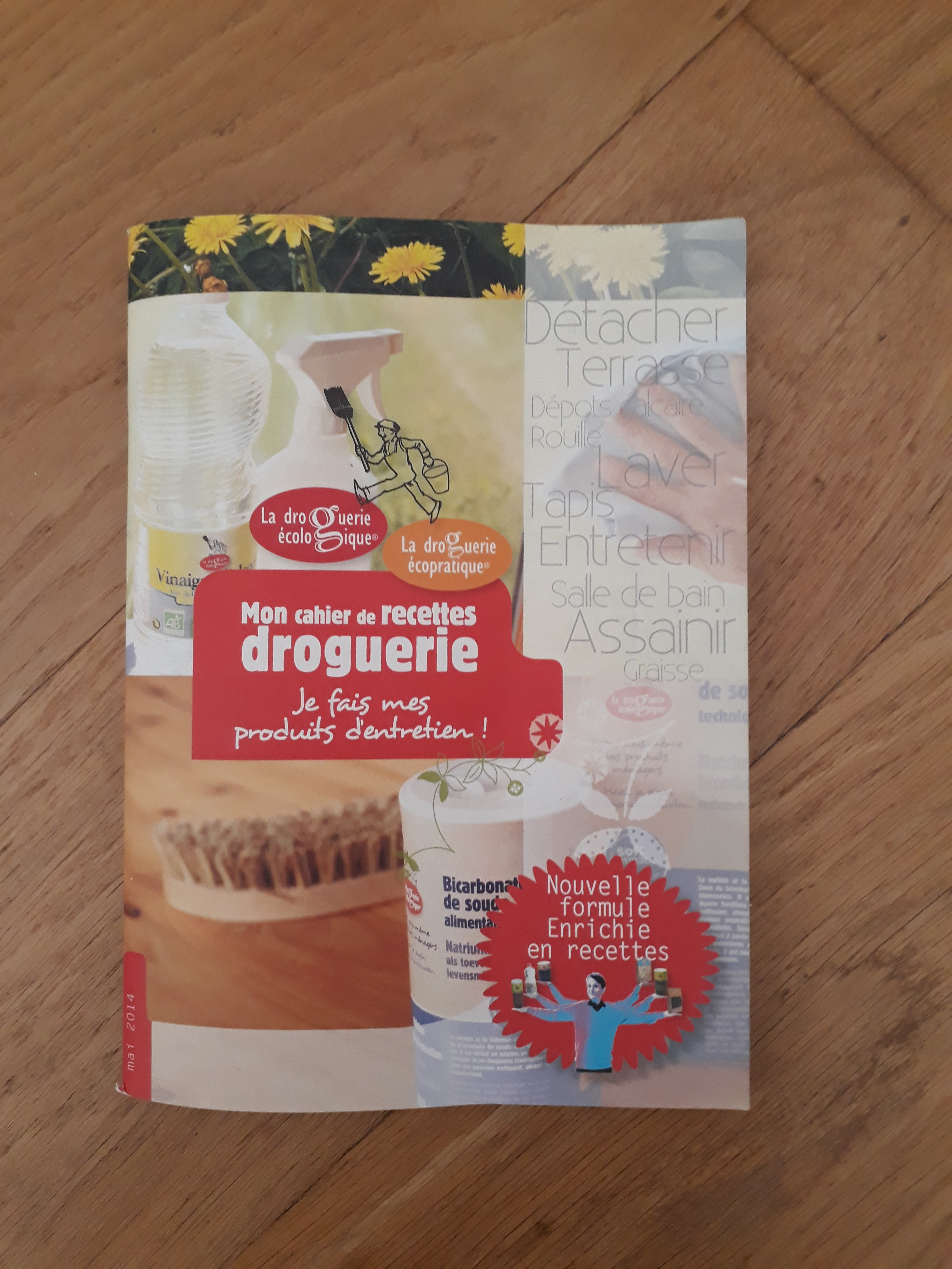 J'ai testé pour vous le Livre de recettes la Droguerie Ecologique