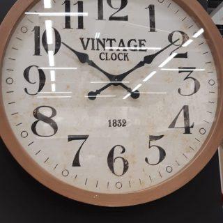 Mon horloge vintage gousset bois 74cm