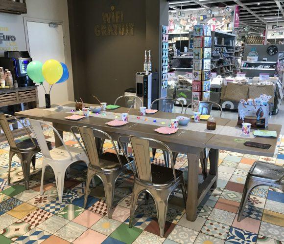 Fêter un anniversaire enfant chez zodio – Atelier créa