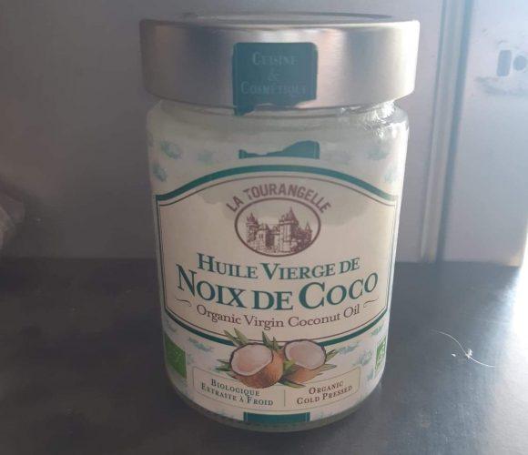 J'ai testé l'huile de coco