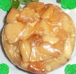 Feuilletés aux pommes  façon tarte tatin