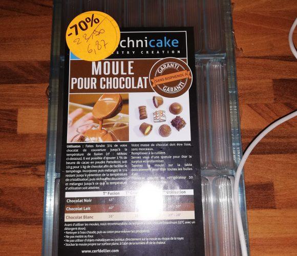 J'ai testé pour vous moule chocolat polycarbonate