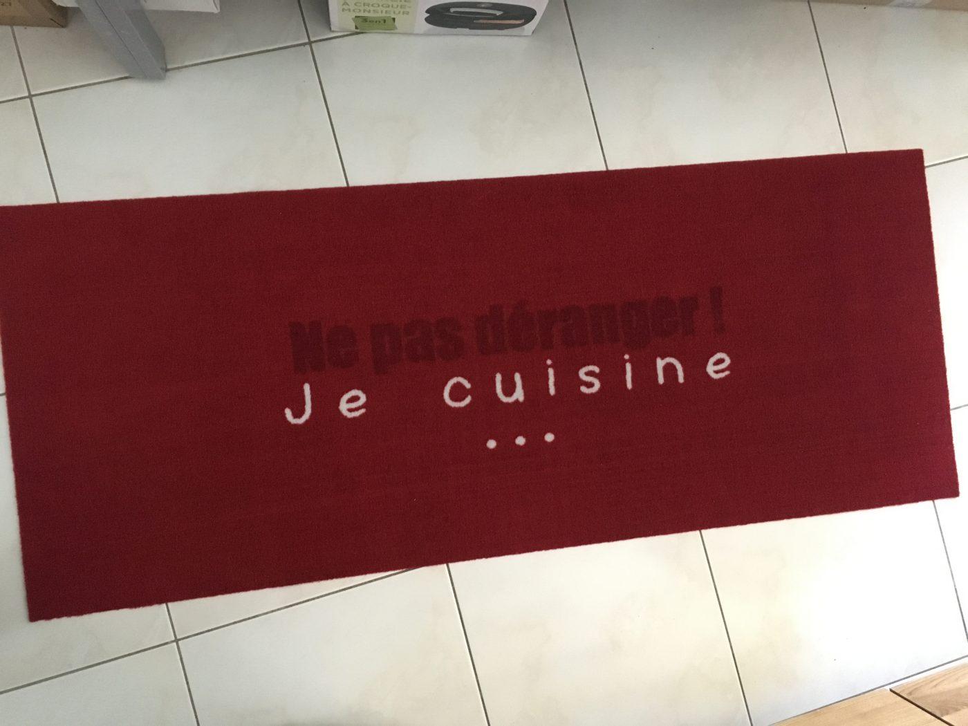 J'ai testé pour vous tapis de cuisine