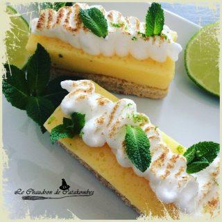Tartelettes citron & biscuit noisette